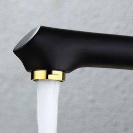 Black Gold Kitchen Faucet