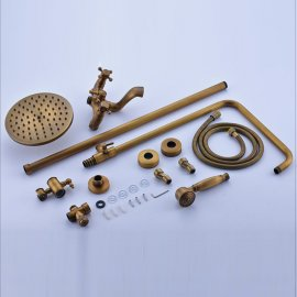 Solid Brass Hand Held Shower Head