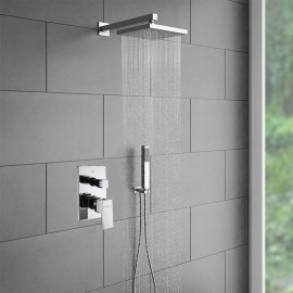 Bravat Chrome Shower Head Set