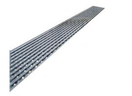 Juno Flange Body Linear Shower Drain Flag Design