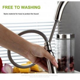Cusco Long Neck Kitchen Pull Out Touch Sensor Faucet