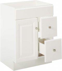 Juno White Vanity Cabinet