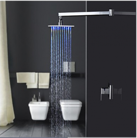 Juno 12 Inch LED Lighted Shower Head