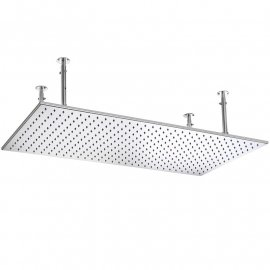 Juno 40 inch Rain Shower Head with LED Lights