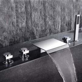 Juno Bathtub Faucet with Hand Shower