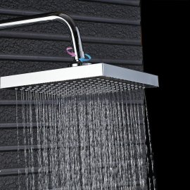 Juno Brass Finish LED Shower Set