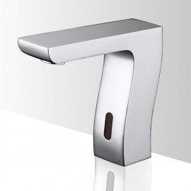 Juno commercial faucet chrome deck mount