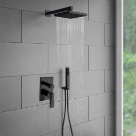 Juno Oil-Rubbed Bronze Shower Head Set