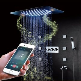 Juno Phone Control Musical Shower Set with Mixer