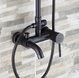 Juno New Design Oil Rubbed Bronze Rain Shower Set