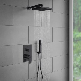 Juno New Oil-Rubbed Bronze Shower Head Set