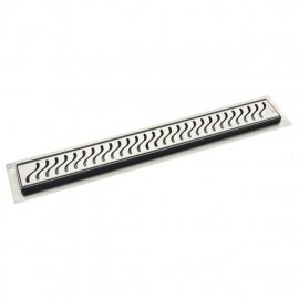 Juno S Design Linear Shower Drain Stainless Steel Channel Body