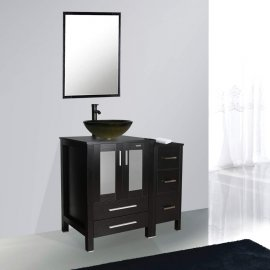 Juno Square Yellow Vanity Set