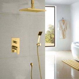 Juno Gold Shower Head System