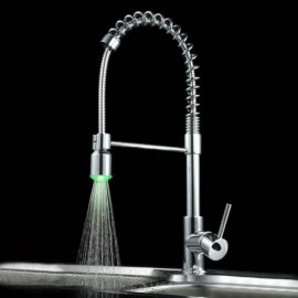 Pull-out LED Kitchen Sink Faucet