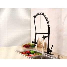Pistoia Kitchen Sink Faucet With Pull Down Mixer Tap