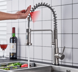 touch control sensor kitchen faucet