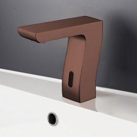 Juno Trio Light Oil Rubbed Bronze Commercial Automatic Motion Sensor Faucet
