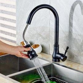 Juno Oil Rubbed Bronze Kitchen Sink Faucet