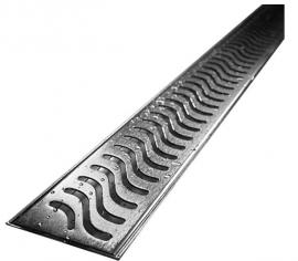 LED Linear Shower Drain Flag Design Flange Body