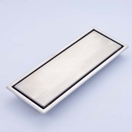 Stainless Steel Rectangle Anti-Odors Invisible Shower Drain