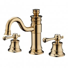 Gold Brass Hot & Cold Mixer Faucet