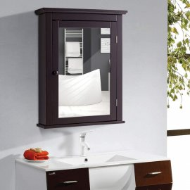 Wall Mount Medicine Cabinet - Mirrored Bathroom Wall Mounted Medicine Cabinet