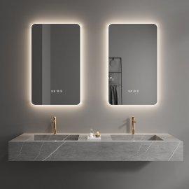 Bathroom Led mirror juno frameless rectangle mirror