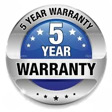 5 Years warranty shower head and faucet