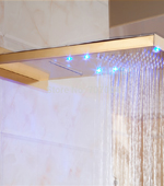 Gold Plated Shower Head | Golden LED Shower Head