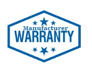 Full factory warranty on ALL shower head and faucets
