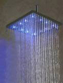 oil rubbed bronze square led rain shower head