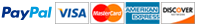 Paypal, Visa/MasterCard, Amex, Discover
